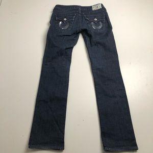True Religion Straight Cut Jeans Women's Size 27